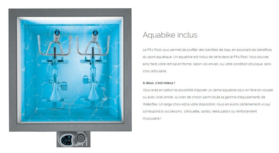 aquabike inclus
